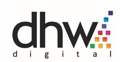 DHW Digital logo